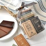【Cafe-Tasse】チョコレートミニタブレットアソート20P