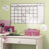 貼れる壁デコ!『RoomMates カレンダー(Dry Erase Calendar)』 -1202