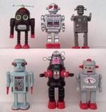 訳あり!超レトロ!プレミア!昔懐かしいティントイロボット