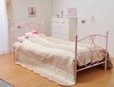 【直送可】女の子の憧れ♪  プリンセスベッド シングルサイズ