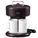 メリート 2カップコーヒーメーカー ブラック(MM-8762)