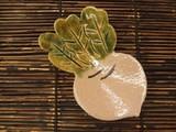 【冬野菜の小皿】季節を感じます 赤カブ