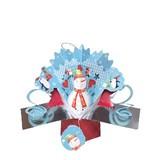【Second Nature】 プチポップアップカード スノーマン <クリスマス>