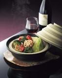 【蒸し料理にはコレ!】蒸温菜鍋 ナベ/蒸し皿/フタ3点セット