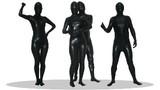 透明人間 コーティング 黒