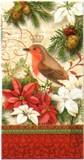 パンチスタジオ クリスマス ペーパーナプキンL <鳥×フラワー>