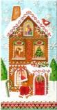 パンチスタジオ クリスマス ペーパーナプキンL <ハウス>