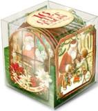 パンチスタジオ クリスマス ギフトタグキューブ <サンタ×プレゼント> 16枚入
