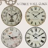 【直送可】【送料無料】【アンティーク】【時計】【4種類】アンティークウォールクロック*不二貿易*