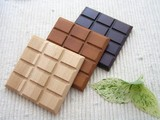 【期間限定セール】 木のチョコレートコースター