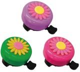 可愛いお花のベルで楽しく自転車に乗りましょう〜☆【フラワーバイシクルベル】3色♪