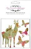 LES INVASIONS EPHEMERESステッカー(バンビ) 鹿と蝶