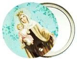 LES INVASIONS EPHEMERES ポケットミラー マリアとイエスキリスト