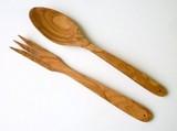 【scan wood】オリーブウッド サラダセット