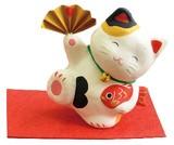 SALE【縁起飾り】 張り子の縁起飾り  猫のたま三郎 【5種】