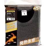 発熱体感!BTサーモインナーシャツ長袖丸首<防寒・Tシャツ・インナー・保温・発熱・メンズ・スポーツ>