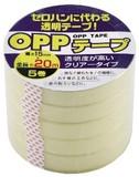OPPテープ 15mm×20m 5巻【文具小物】
