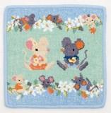 Artemogol Handkerchief Mouse Family Towel Handkerchief