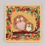 Artemogol Handkerchief Owl Towel Handkerchief
