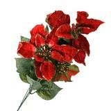 <値下げ品>【特価品:クリスマスにも♪】造花 ポインセチア