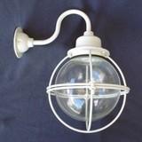 昭和のレトロ感が抜群!船舶風ブラケットライト<照明・アンティーク・壁照明・猫・インテリア・ガラス>
