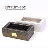 ◆上品な大人デザイン!高級宝石箱/ジュエリーケース♪アクセサリーケース♪JBOX-780