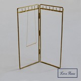 Brass Necklace Stand