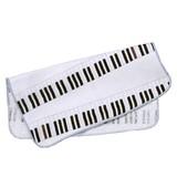 【日本製】 がーぜたおる 『 ピアノ 』 ハンカチ 泉州