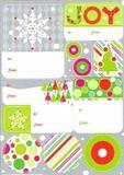 THE GIFT WRAP COMPANY ラベルステッカー(シール) クリスマス <JOY>