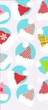 THE GIFT WRAP COMPANY セロトリートバッグ(セロファンバッグ) クリスマス <帽子>