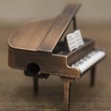 【ミニチュア】アンティークシャープナー[レトロ グランドピアノ]鉛筆削り