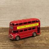 【ミニチュア】アンティークシャープナー[ロンドンバス]鉛筆削り