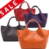 【特価SALE】ソフト合皮ハンドバッグ/手提げバッグ【ミーレ3】
