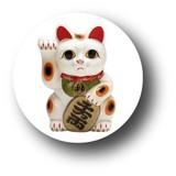 お正月缶バッジNO. CBWI-05 招き猫