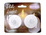 LED ティーライト[マルチカラー 2個入り]