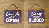 """Old New シリーズ[Both プレート"""" OPEN & CLOSED""""]"""