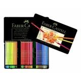 【FABER-CASTELL】ポリクロモス色鉛筆セット60色缶入