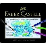 【FABER-CASTELL】アルブレヒト デューラー水彩色鉛筆セット24色缶入 8202