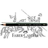 【FABER-CASTELL】カステル9000番 ジャンボ鉛筆8B