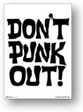 ミニポス(B5サイズミニポスター)POS-071/Don't Punk Out!/ロックシリーズ