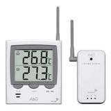 遠くの温度を無線で飛ばし、手元で確認できるデジタル温度計! ワイヤレス温度計 AD-5661 (卓上・壁掛)