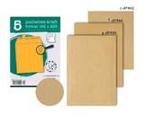 【クレールフォンテーヌ】【3サイズ】クラフト封筒