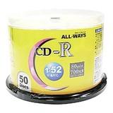 ALCR52X50PW CD-R 1-52倍速 50枚 スピンドルケース