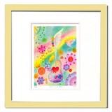 優しい雰囲気で人気のアート♪ Ryo/てんごくのおと <ジグレー版画>