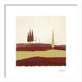 インテリアアート/JONAS HORST/CONCENTRATION IN RED I