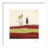 インテリアアート/JONAS HORST/CONCENTRATION IN RED II