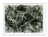 インテリアアート/Jackson, Pollock/Number 33