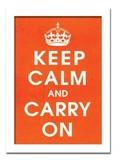 インテリアアート/Vintage Reproduction/Keep Calm (orange)