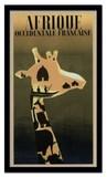 インテリアアート/Paul Colin/Afrique Occidentale Francaise, ca. 1948