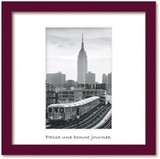 Art Collection mini/Subway Nr 7 with Empire State Building